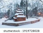 Wooden Temple Church Of St....