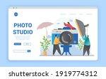 Photo Studio Abstract Concept....
