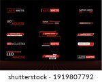 callouts texts titles title... | Shutterstock . vector #1919807792