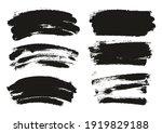 round sponge thin artist brush... | Shutterstock .eps vector #1919829188