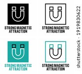 """strong magnetic attraction""... 