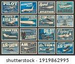 planes  flying aircraft  flight ... | Shutterstock .eps vector #1919862995