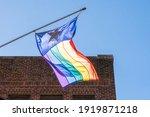 A Sunlit Texas Lgbt Gay Pride...