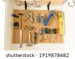 Various Diy Tools Hanging On...