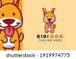 Cute Kawaii Puppy Dog Mascot...