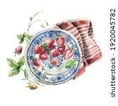 rural watercolor illustration   ... | Shutterstock . vector #1920045782