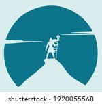 drawing or sketch of indian... | Shutterstock .eps vector #1920055568