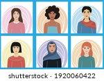 women of different... | Shutterstock .eps vector #1920060422