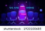 we are hiring cartoon banner... | Shutterstock .eps vector #1920100685
