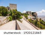 erice  sicily  italy. castello...   Shutterstock . vector #1920121865