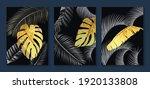 luxury gold wallpaper.  black...   Shutterstock .eps vector #1920133808