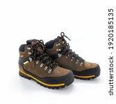 Trekking Boots In Brown Nubuck...