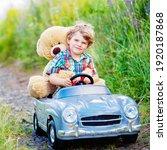 Little Preschool Kid Boy...