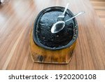 dirty dish empty hotplate with...   Shutterstock . vector #1920200108