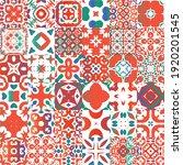 mexican ornamental talavera...   Shutterstock .eps vector #1920201545