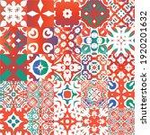 antique talavera tiles...   Shutterstock .eps vector #1920201632