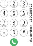 phone dial number keypad screen ...