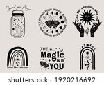 mystical and celestial... | Shutterstock .eps vector #1920216692