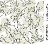 seamless pattern with soft... | Shutterstock .eps vector #1920222242