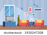 tropical houseplant green... | Shutterstock .eps vector #1920247208