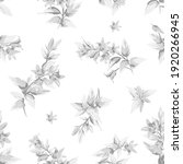 seamless pattern with gray... | Shutterstock .eps vector #1920266945