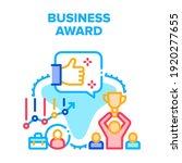 business award vector icon... | Shutterstock .eps vector #1920277655