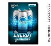 energy drink creative...   Shutterstock .eps vector #1920277772