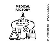 medical factory vector icon... | Shutterstock .eps vector #1920282302