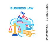 business law vector icon... | Shutterstock .eps vector #1920282308