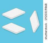 white mattress vector... | Shutterstock .eps vector #1920319868