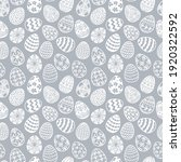 seamless pattern with doodle... | Shutterstock .eps vector #1920322592