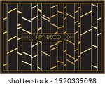 vector geometric art deco...   Shutterstock .eps vector #1920339098
