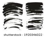 round sponge thin artist brush... | Shutterstock .eps vector #1920346022