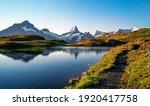 Bachalpsee Lake. Highest Peaks...