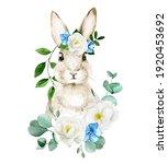 Watercolor Drawing Cute Easter...