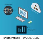 explanation of first party data ...   Shutterstock .eps vector #1920570602
