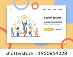 people winning different prizes....   Shutterstock .eps vector #1920614228