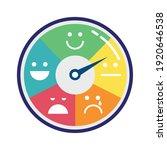customer satisfaction gauge...   Shutterstock .eps vector #1920646538