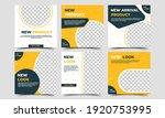 set of editable square... | Shutterstock .eps vector #1920753995