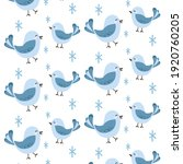 the happy birds with white... | Shutterstock .eps vector #1920760205