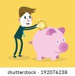 saving money. business concept | Shutterstock .eps vector #192076238