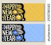 greeting cards for new year... | Shutterstock . vector #1920780182