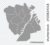 high quality map of copenhagen...