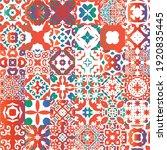 decorative color ceramic...   Shutterstock .eps vector #1920835445