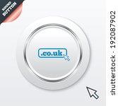 domain co.uk sign icon. uk...