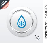 defrosting sign icon. from ice...