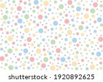 spring background with color...   Shutterstock .eps vector #1920892625