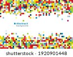 vector bright background with... | Shutterstock .eps vector #1920901448