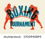 boxing tournament typographical ...   Shutterstock .eps vector #1920940895
