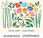 vector clipart. floral design... | Shutterstock .eps vector #1920944852